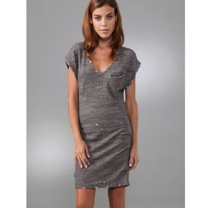 IRO Jen Grey Sweater Dress